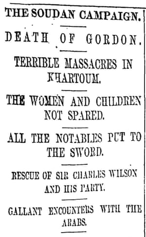 Manchester Guardian, 11 February 1885
