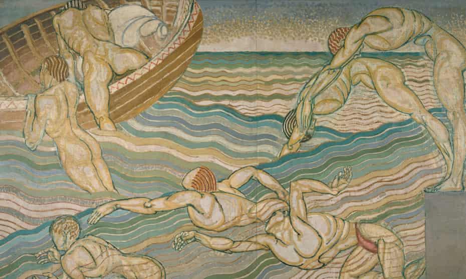 Against the tide … Duncan Grant's Bathing (1911).