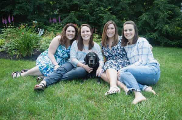From left: sisters Emily, Maureen, Adeline and Natalie.
