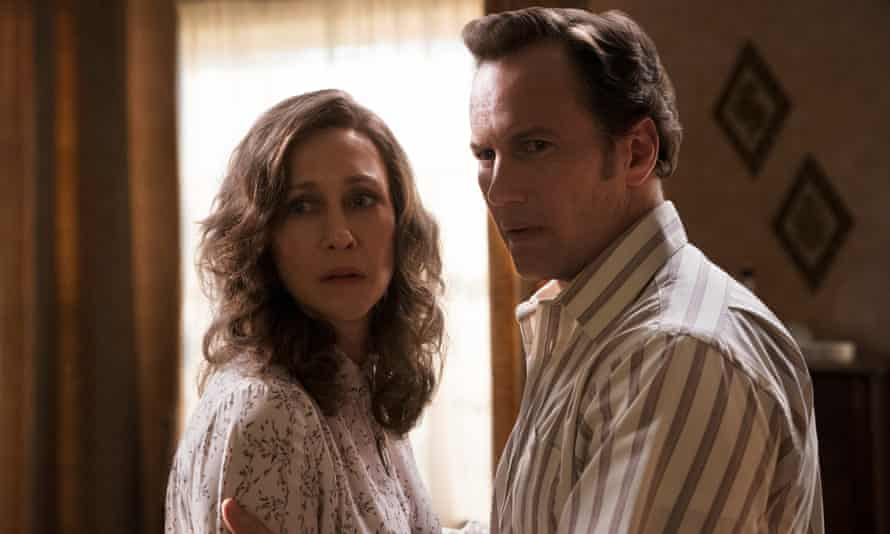 Vera Farmiga and Patrick Wilson in The Conjuring: The Devil Made Me Do It, a return to form for a series that had been showing signs of fatigue.