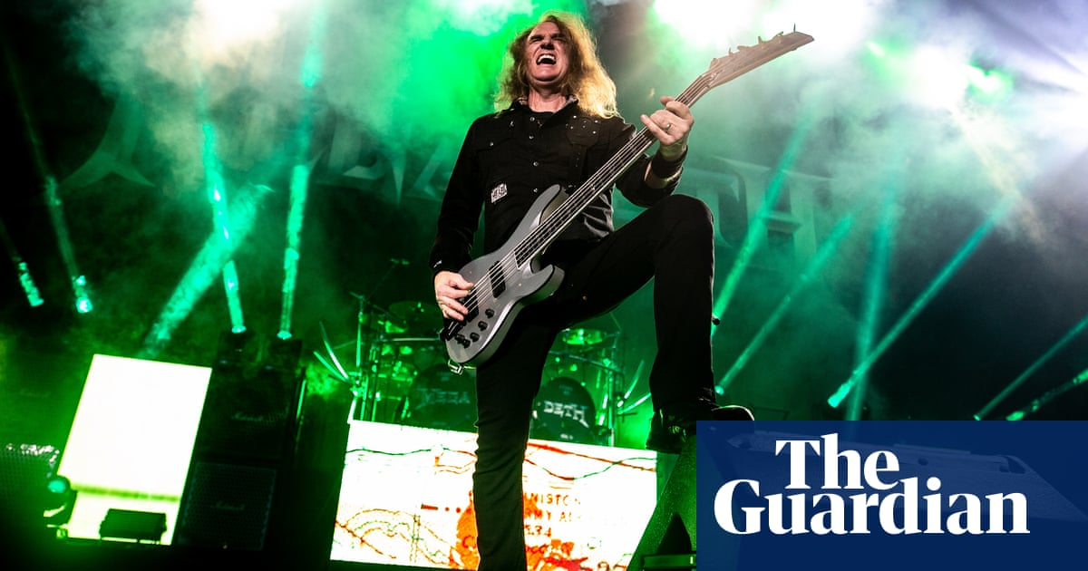 Megadeth fire bassist David Ellefson over sexual misconduct allegations
