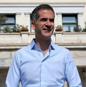 Mayor of Athens Kostas Bakoyannis.