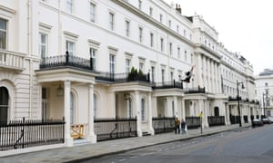 Belgrave Square, which is popular with Russian investors.