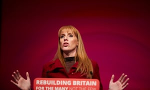 Shadow education secretary, Angela Rayner.