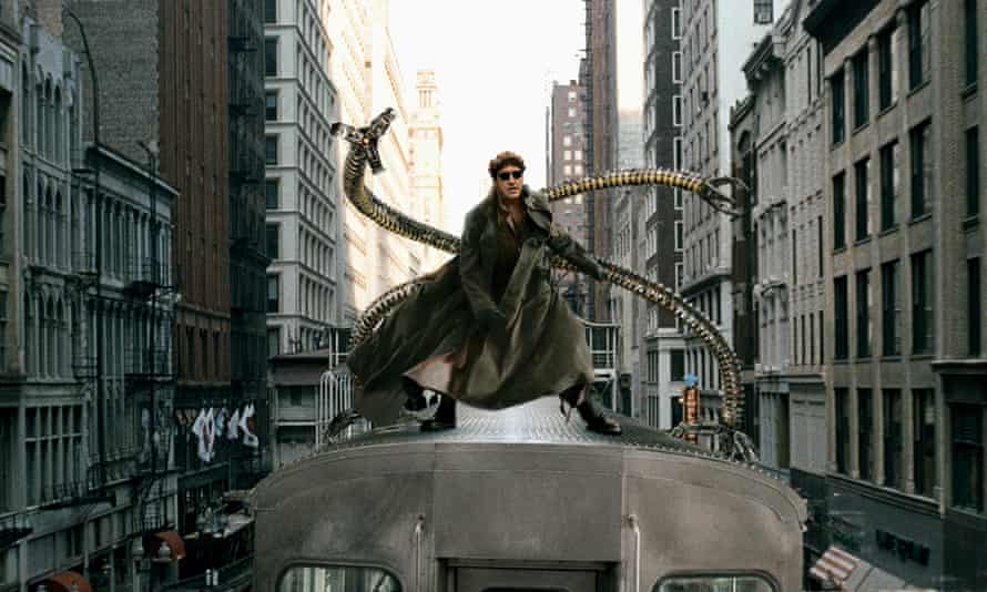 Alfred Molina as Doctor Octopus in Spider-Man 2.