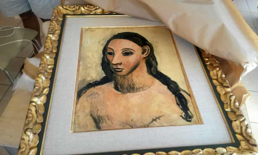 Pablo Picasso's Head of a Young Woman, which is owned by Jaime Botín.