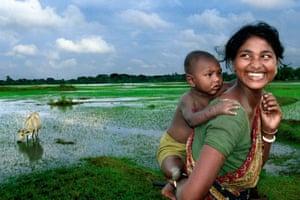Happy in Her Own World, 2008. Abhijit Nandi