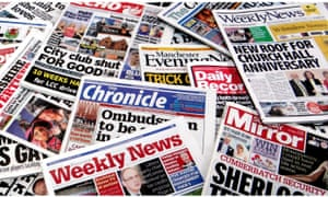 Trinity Mirror's stable of local newspapers.