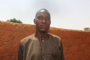 Nasiru Ibrahim is working to increase toilet ownership and reduce open defecation.