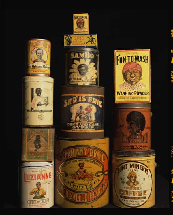 """Infamous, """"Racist America II"""" 1920's - 1940's Vintage Products © Andres Serrano."""