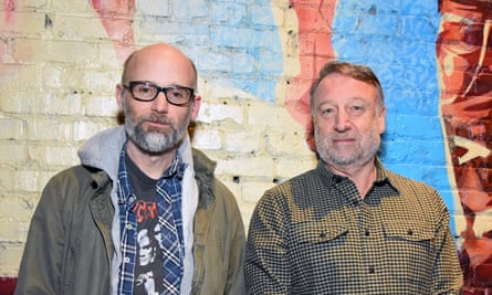Moby and Peter Hook. 'Ian would be proud.'