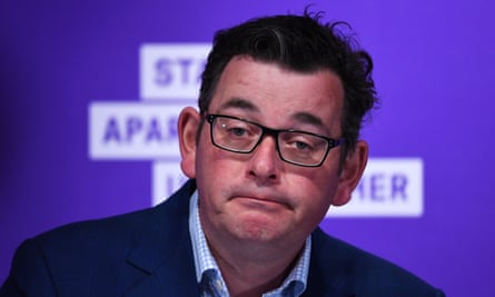Victorian premier Daniel Andrews: 'We have done as much as we possibly can.'