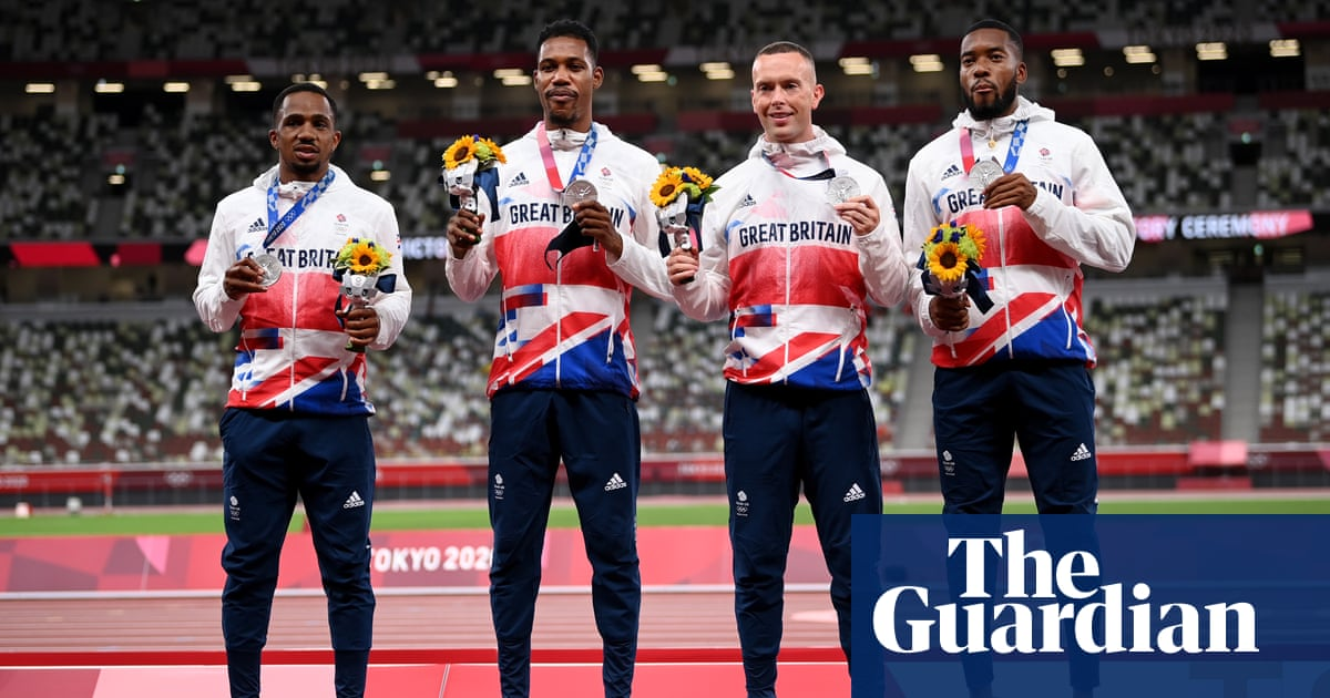 Team GB set to lose 4x100m Olympic silver after second positive for Ujah