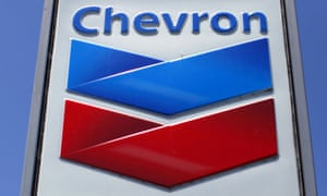 A Chevron sign