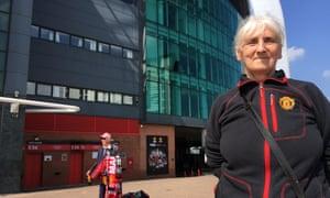 Norma Smith, 73, said she's praying for Sir Alex Ferguson.