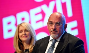 Nadhim Zahawi at the Conservative party conference in Manchester last month.