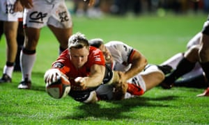 Chris Ashton was the leading try-scorer in the Top 14 last season with 24 in 23 games.