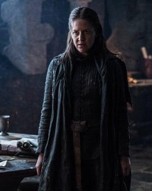 Gemma Whelan as Yara Greyjoy in Game of Thrones.