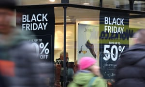 Shopping footfall decline<br>File photo dated 22/11/18 of shops in Canterbury, Kent, displaying offer posters ahead of Black Friday sales. New retail figures suggest the number of visits to town centres and shopping hubs in November dropped at the fastest rate since the recession, with a 3.2% decline in footfall. PRESS ASSOCIATION Photo. Issue date: Monday December 10, 2018. See PA story CITY Footfall. Photo credit should read: Gareth Fuller/PA Wire