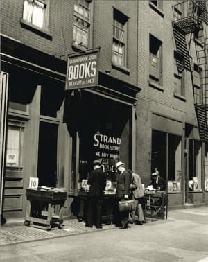 The Strand in its former home on Book Row in 1938