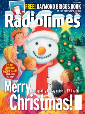 The Christmas Radio Times cover
