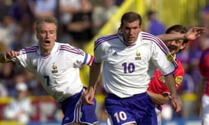 Didier Deschamps and Zinedine Zidane played together for France and Juventus.