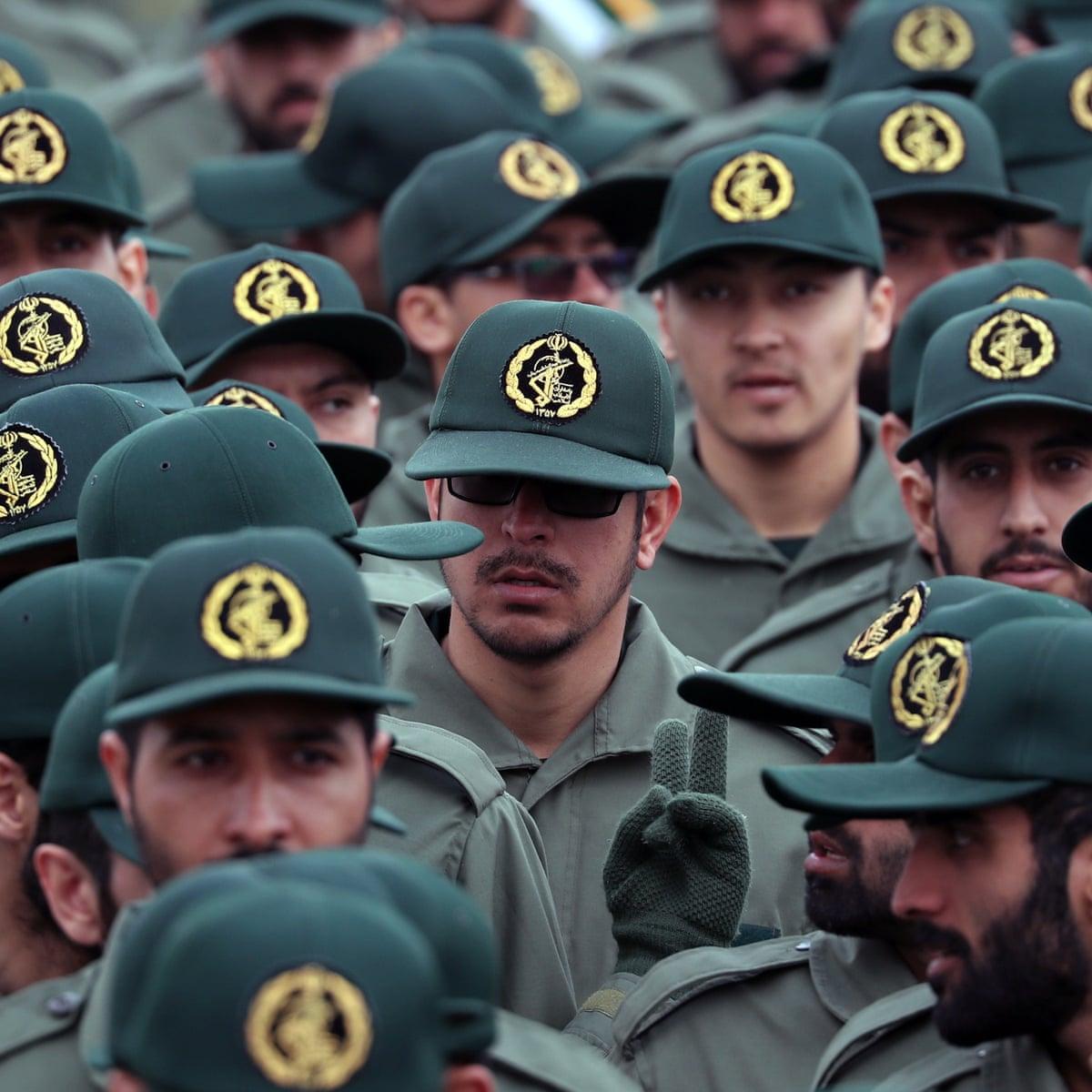 Trump Designates Iran S Revolutionary Guards As Foreign Terrorist Organization Iran The Guardian