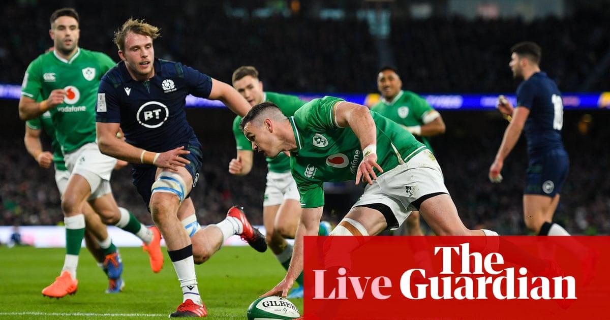 Six Nations 2020: Ireland v Scotland – live!