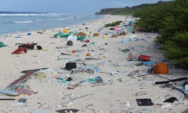 самый загрязненный остров на планете