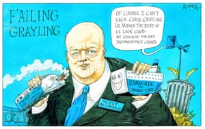 Chris 'Failing' Grayling.