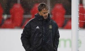 Frank de Boer needs time to rebuild Atlanta United after the departure of Miguel Almirón.