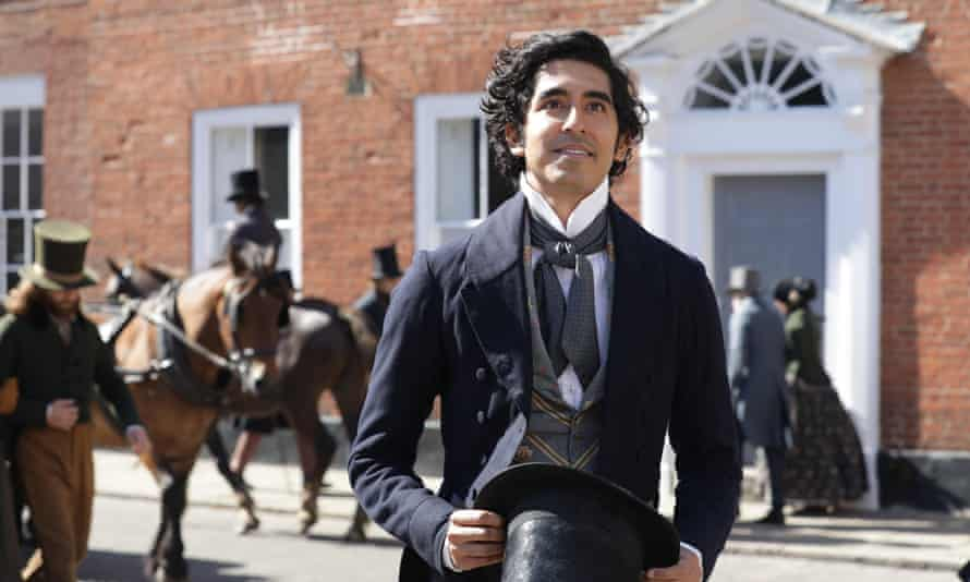 Dev Patel as David Copperfield in The Personal History of David Copperfield.