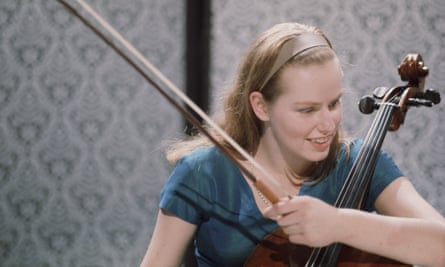 'Go and do it!' … Jacqueline du Pré, the subject of a forthcoming ballet by Cathy Marston, in 1962.