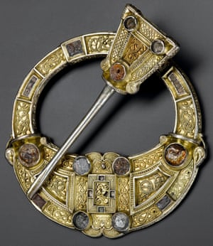 Hunterston brooch from south-west Scotland, AD700-800.