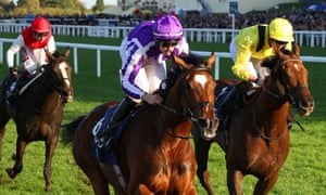 Magical, ridden by Donnacha O'Brien, wins the Champion Stakes at Ascot.