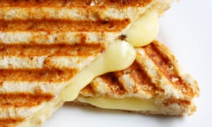 Keep it simple … a grilled cheese sandwich