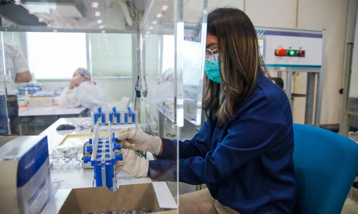 Thailand Develops Robotic System to Produce More AstraZeneca Vaccine: school megamart 2021