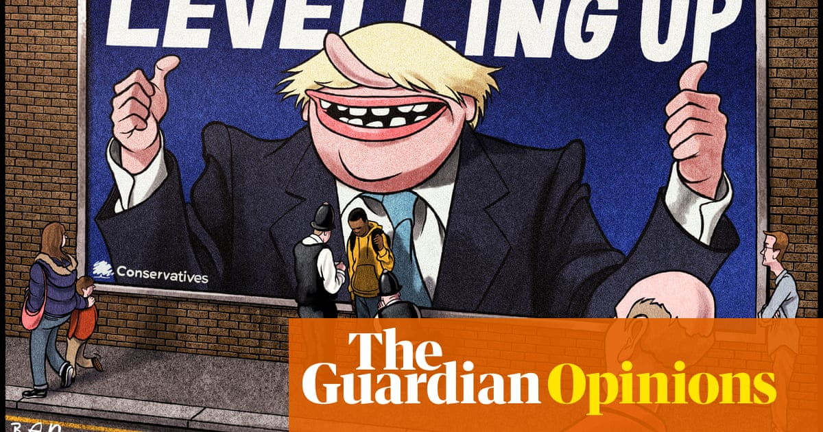Ben Jennings on Boris Johnson's crime plan — cartoon