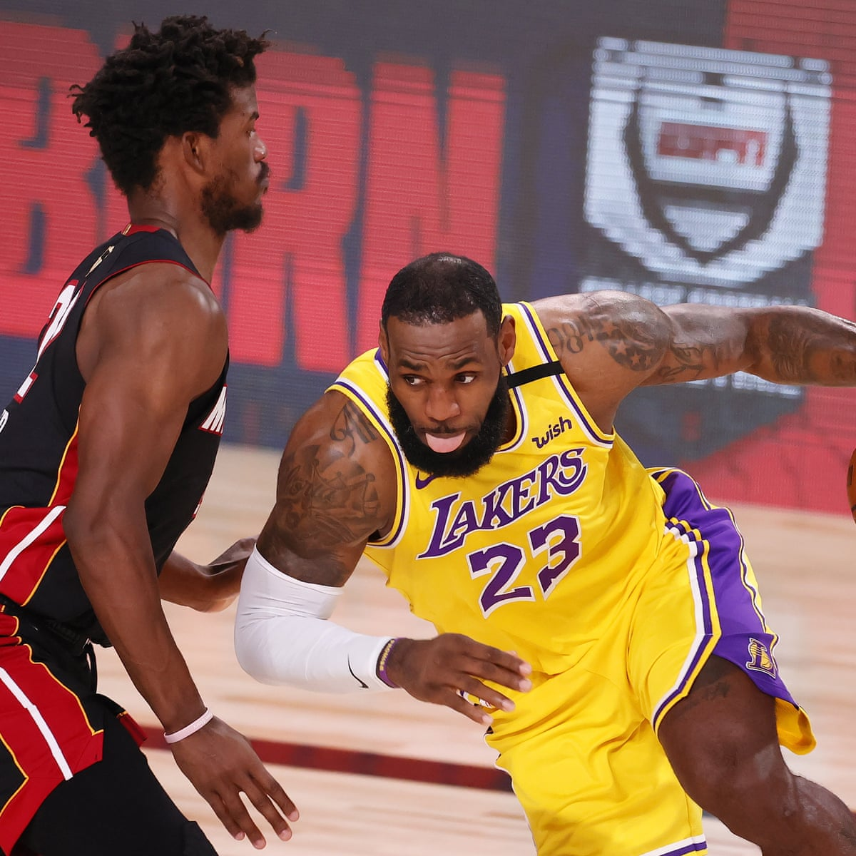 Nba Finals 2020 Game 1 Miami Heat V Los Angeles Lakers Live Sport The Guardian