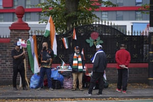 Nothing doing for India fans outside the ground.