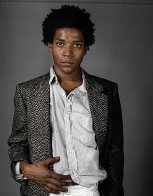 Richard Corman: Basquiat A Portrait V, 1984