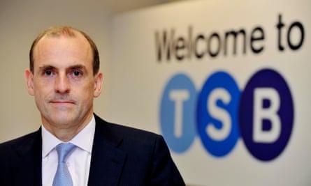 TSB head Paul Pester