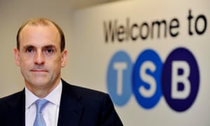 The TSB chief executive, Paul Pester