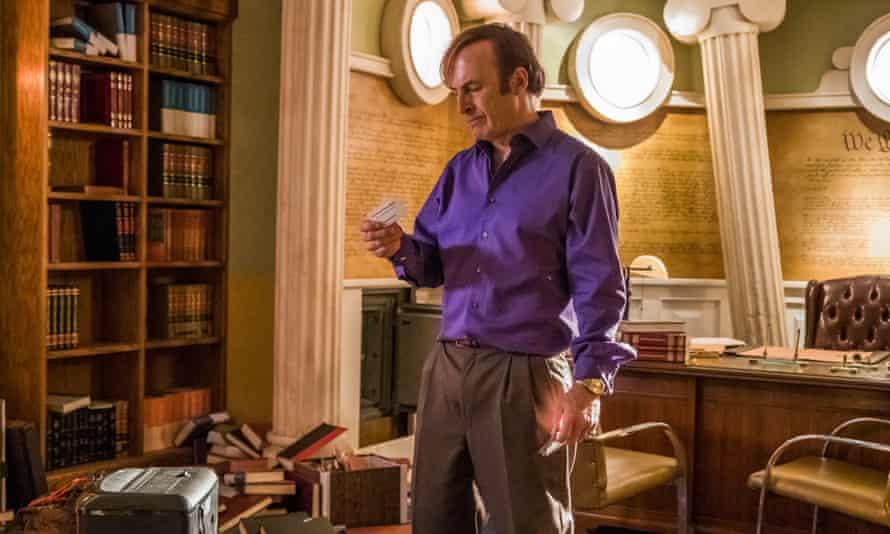 Jimmy McGill/Saul Goodman (Bob Odenkirk) in Better Call Saul