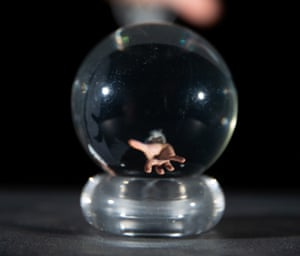 A crystal ball used by David Bowie as Jareth from the 1986 film Labyrinth, estimated at £10,000-£15,000