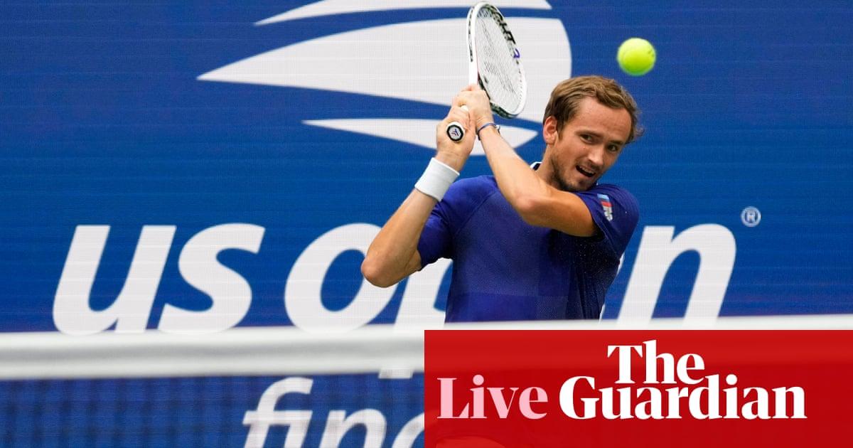 Novak Djokovic v Daniil Medvedev: US Open men's final – live!