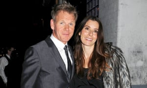 Gordon Ramsay with his wife Tana