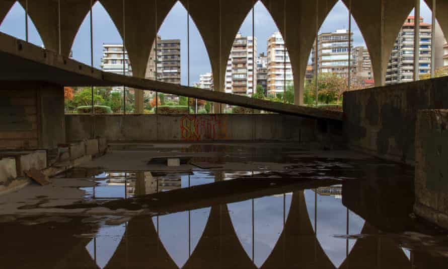 Inside the Lebanese Pavilion