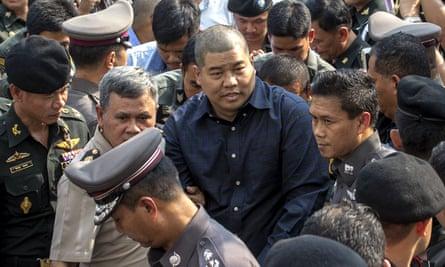 Prakrom Warunprapa, held as part of the same investigation into Suriyan, was found hanged.