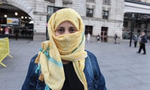 A Yemeni woman called Noor. Photograph by Martin Godwin.